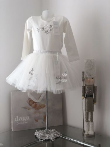 Girls Daga Top and Tutu Set